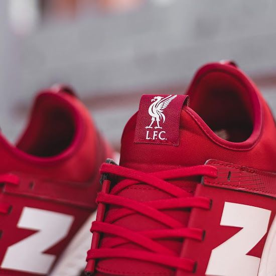 50fd3d751 Liverpool FC New Balanace shoes. New Balance 247 Liverpool 18-19 Sneaker  Released - Footy Headlines