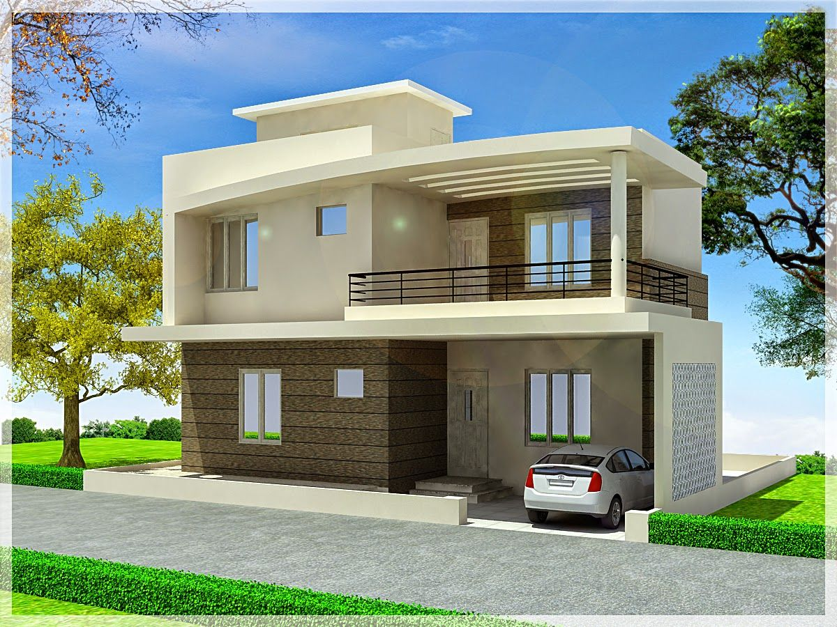 Canvas Of Duplex Home Plans And Designs Simple House Exterior Design House Outer Design Latest House Designs