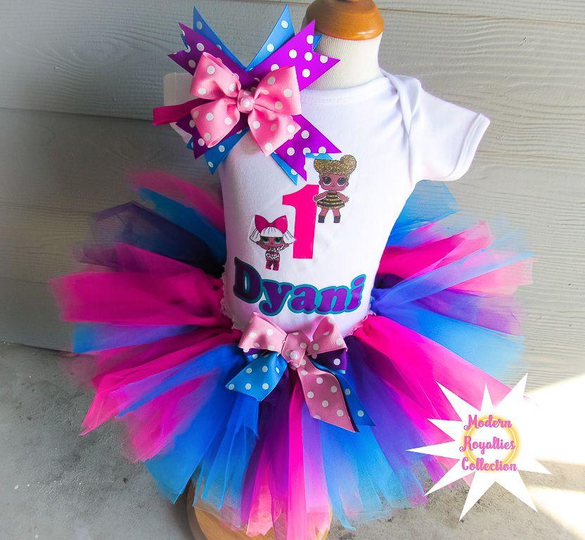 Lol surprise birthday party tutu outfit birthday