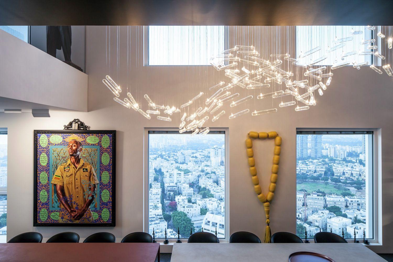 Cobertura do Colecionador de Arte / Pitsou Kedem Architects