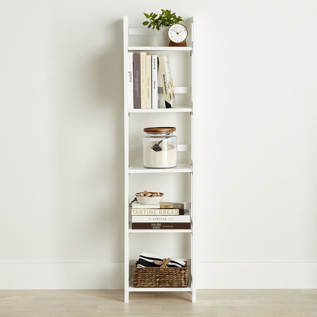 Freestanding Shelving Units Look Perfect And Store Beautifully In