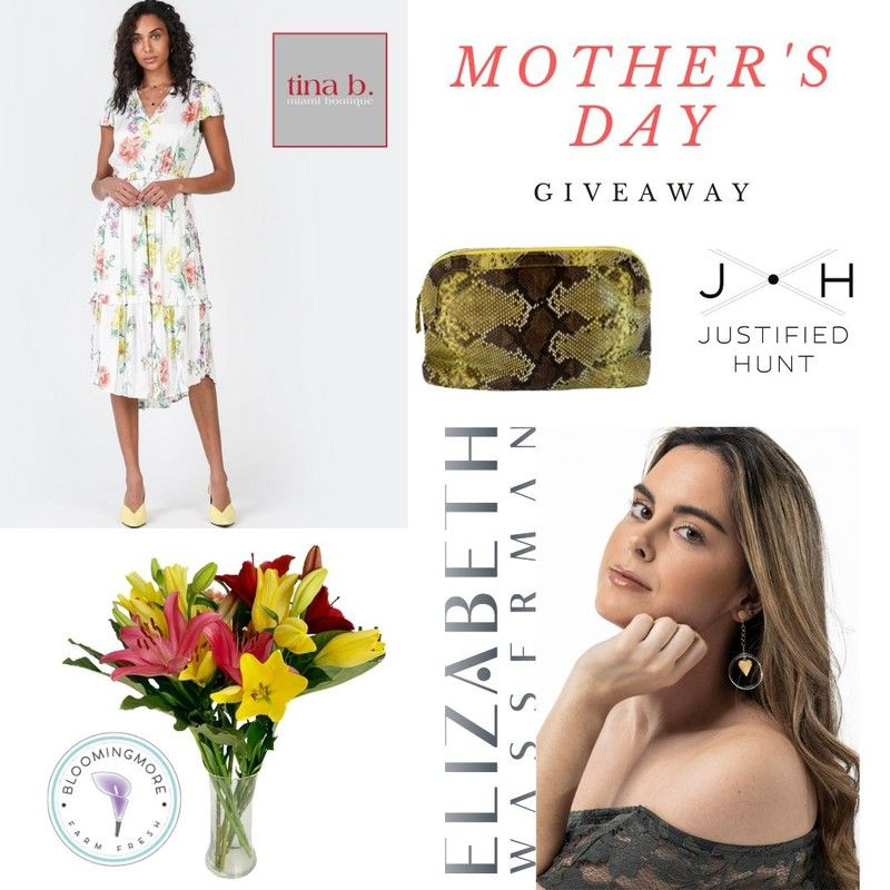 #giveaway #mothersday #shoplocal #supportsmallbusiness #sendinglove #spreadinghappiness #inthistogether #miamiliving #springfashion #springstyle #boutique #fashionista #fashionblogger #stylist #miamifashion #musthave #fashiongram #onlinejewelry #florist #miamistyle #tinabmiami #bloomingmore #justifiedhunt #elizabethwassermanjewelry