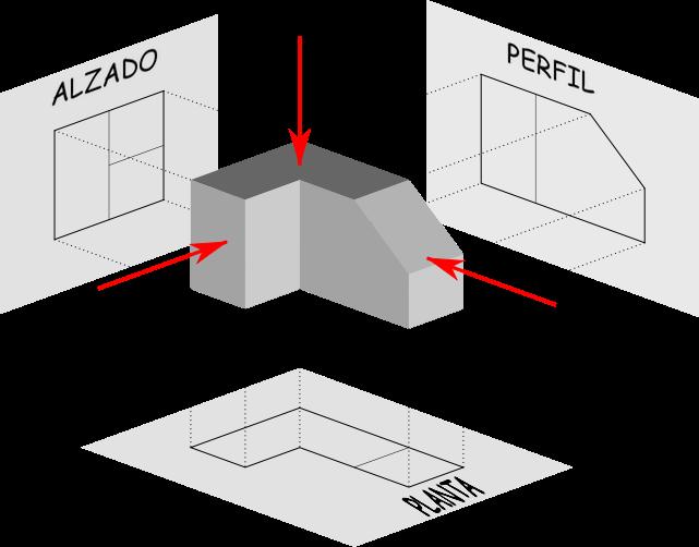 Dibujo Tecnico Geometria Descritiva Geometria Desenho Tecnico