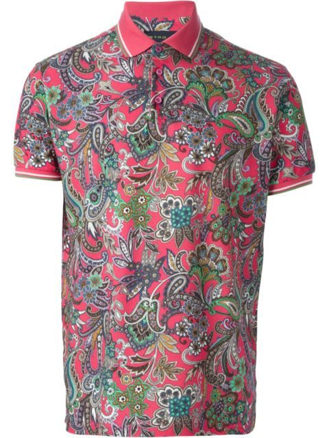 5ec130580f7f1 ETRO Paisley Polo Shirt. #etro #cloth #shirt | Etro Men in 2019 ...