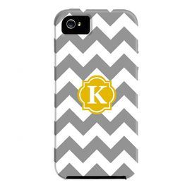 This vibrant iPhone 5 cover highlights a bold interlocking motif and monogram detail.Construction Material: Plastic and siliconColor: Grey and yellowShipping: This item ships small parcelExpected Arrival Date: Between 04/30/2013 and 05/08/2013Return Policy: This item is final sale and cannot be returned