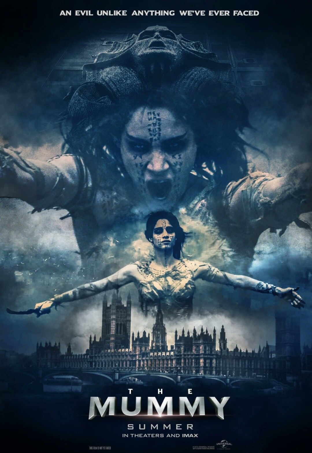 The Mummy movie poster Fantastic Movie posters SciFi