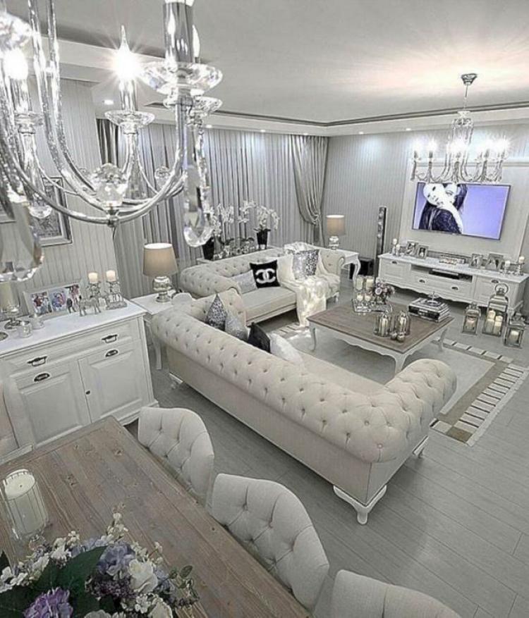 79 Luxury Small Living Room Apartment Decor Ideas Modern Glam Living Room Luxury Living Room Glam Living Room