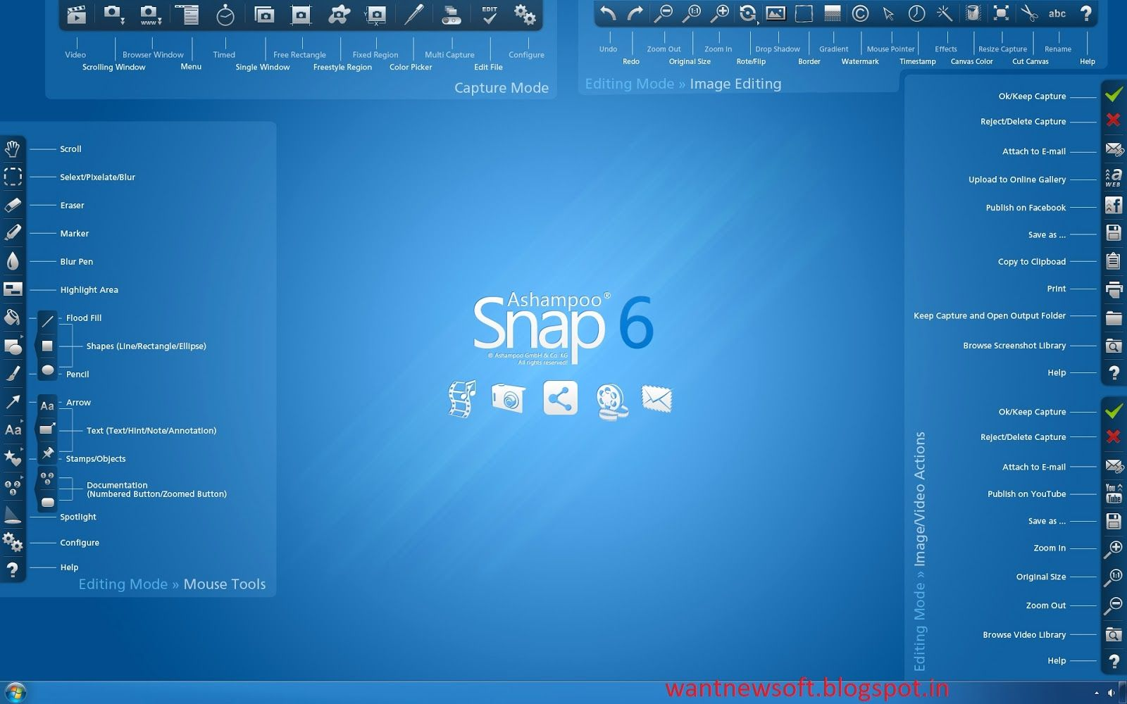 Ashampoo Snap 6 Free Downlload Full Version With License