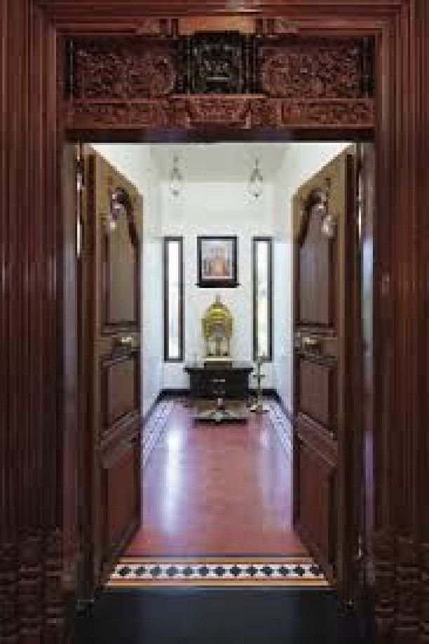 Image Result For Mantras On Pooja Room Door: Image Result For Pooja Room Entrance Design #indianhomes