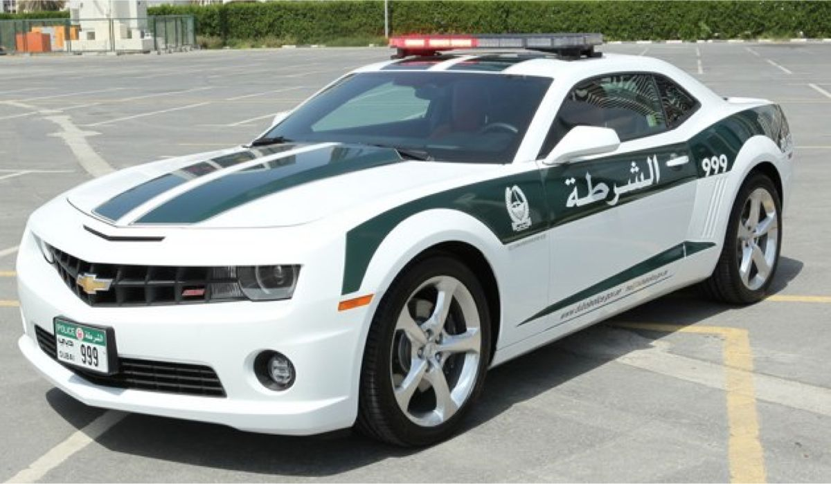These Are The Crazy Cars Of The Dubai Police (With images