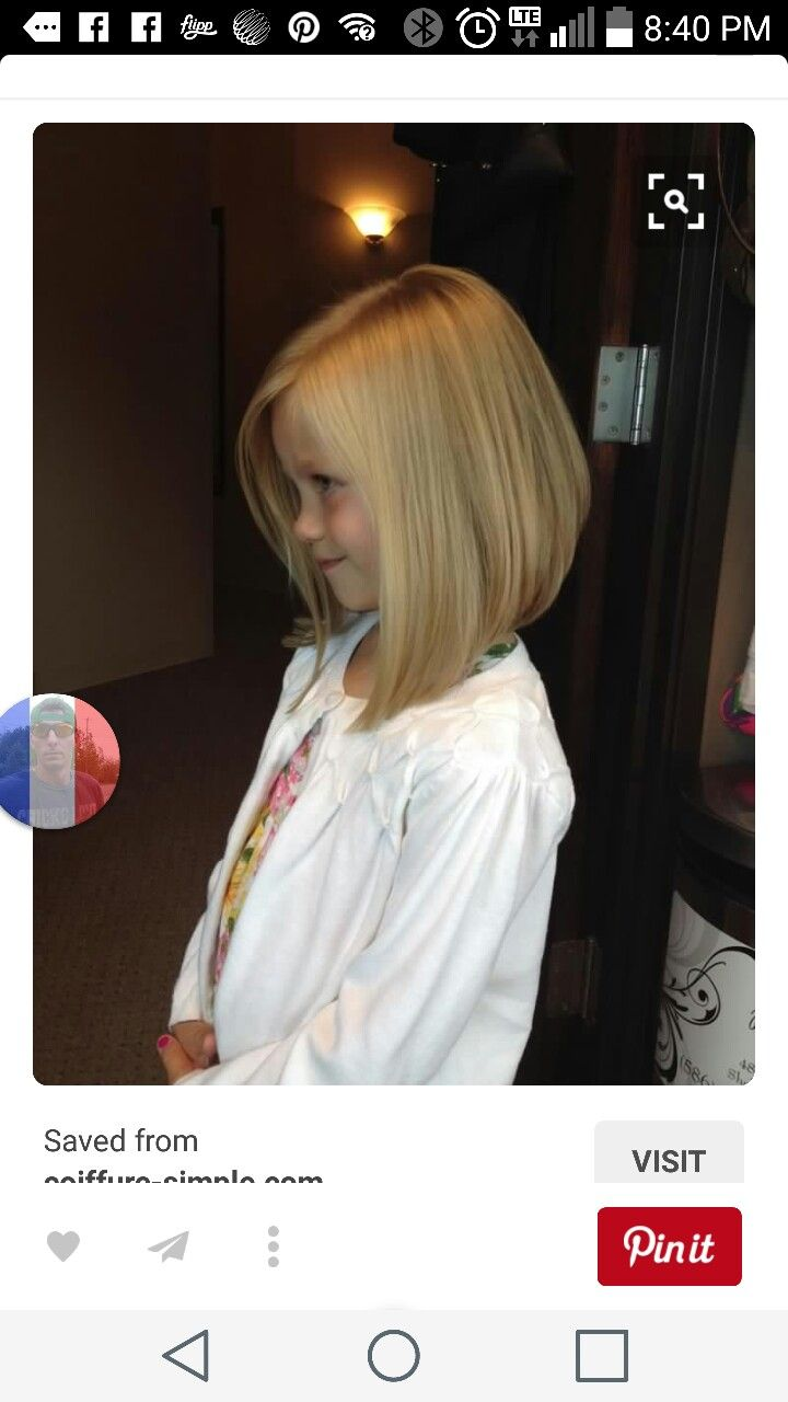 Pin By Whitney Peddie On Hairstyles Girl Haircuts Little Girl