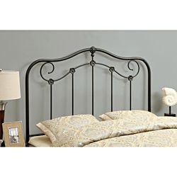 For Those Who Heart Vintage Style Headboards Our Wrought Iron Design Is Accented With Shaped Scrolls Graceful Curves And Traditional Finial