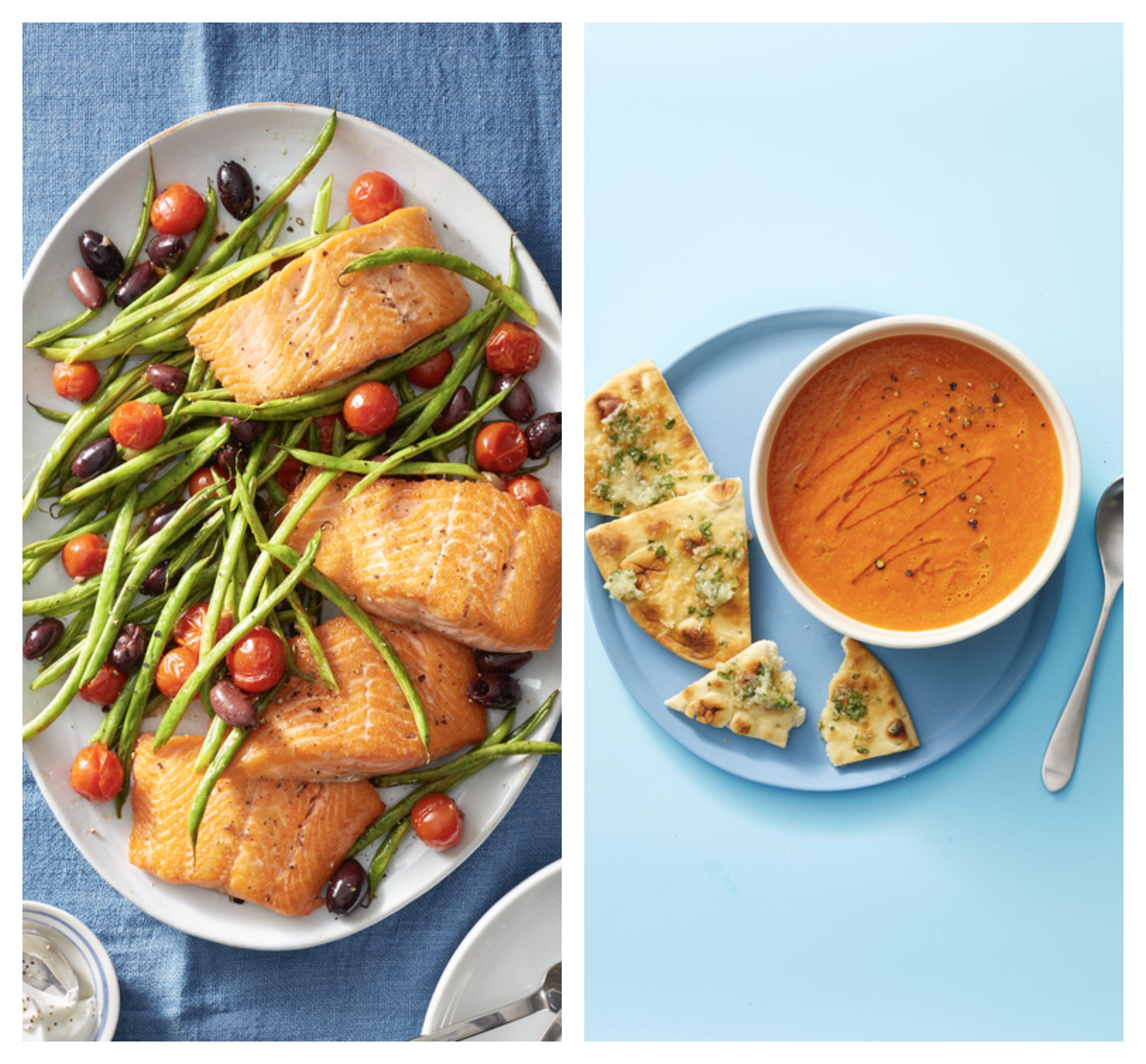 comida bajas calorias recetas