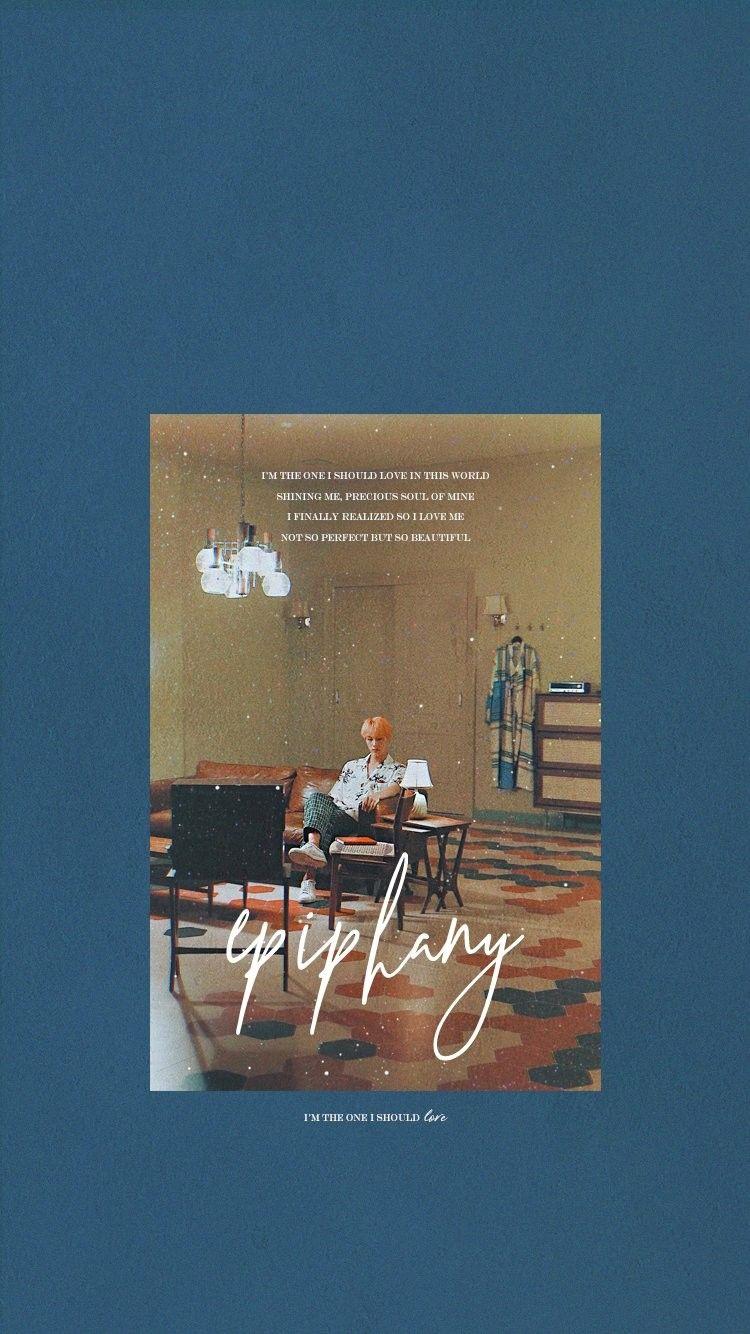 Jin Epiphany Lockscreen Wallpaper Bangtan T