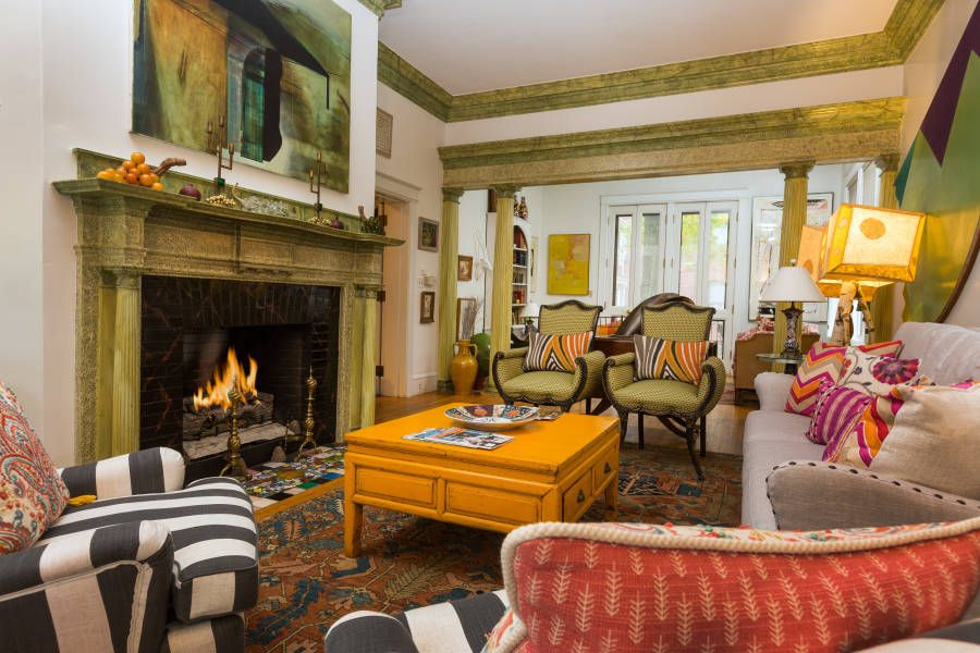 Visit this Portland Maine inn offering eight bright and