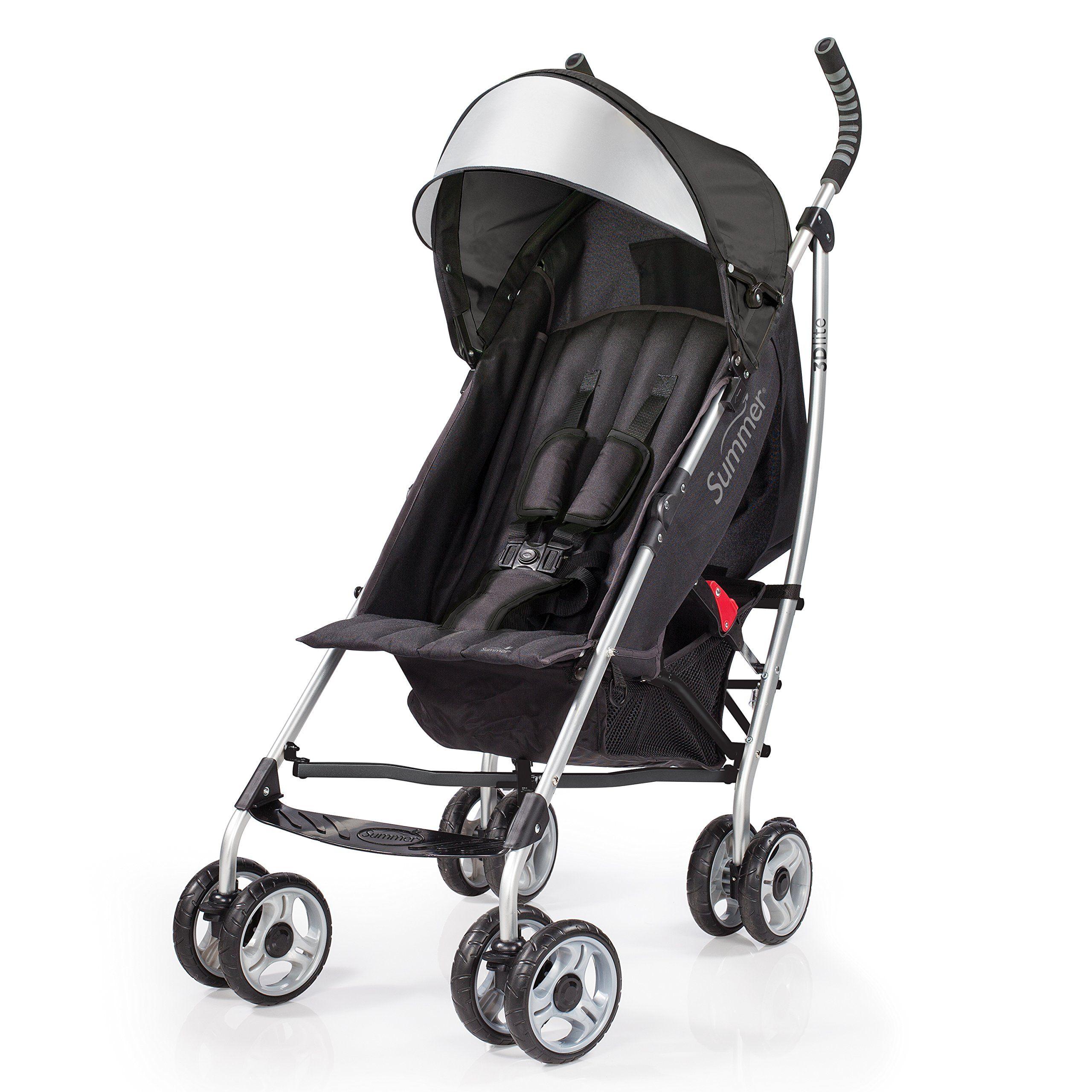 Summer Infant 3D Lite Convenience Stroller Black Best