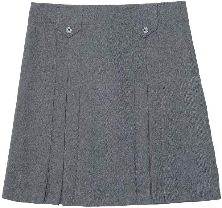 Osh Kosh Girls Kids Pleated Uniform Skirt
