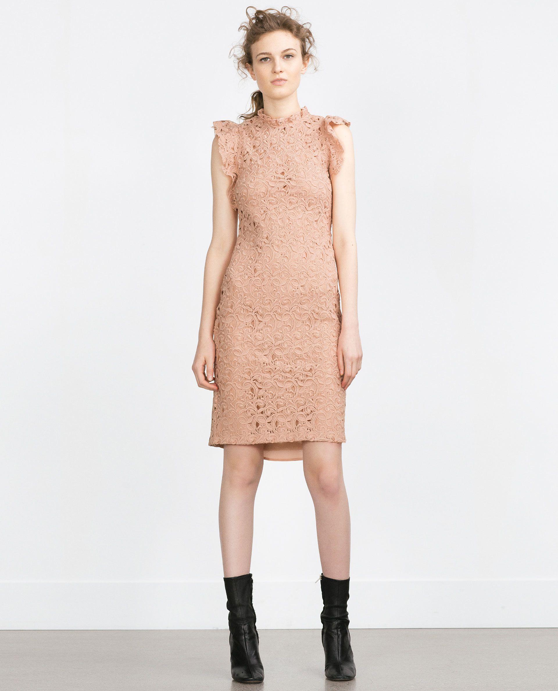 03eb2838 zara ruffle dress - Google Search | F A S H I O N . | Zara dresses ...