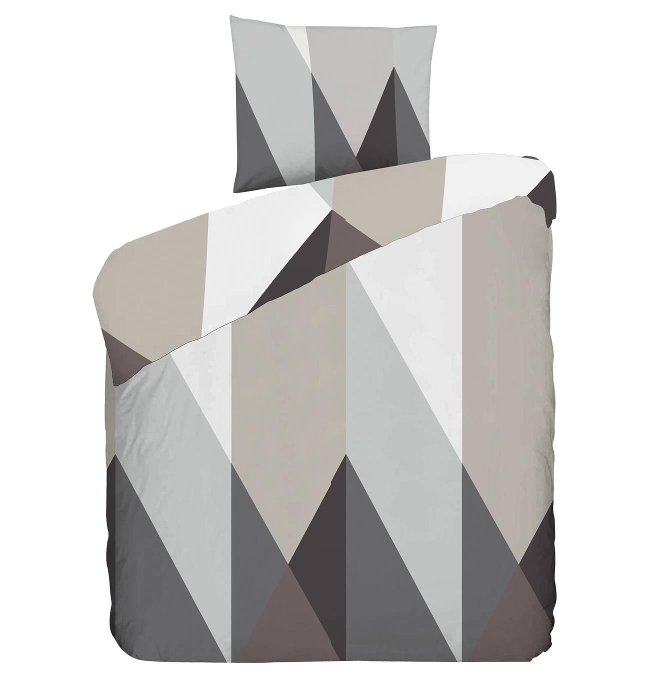 Bettwaschegarnitur Rhombus 100 Baumwolle Geometrisches Muster Mako Satin Satin Bettwasche Satin Und Rautenmuster