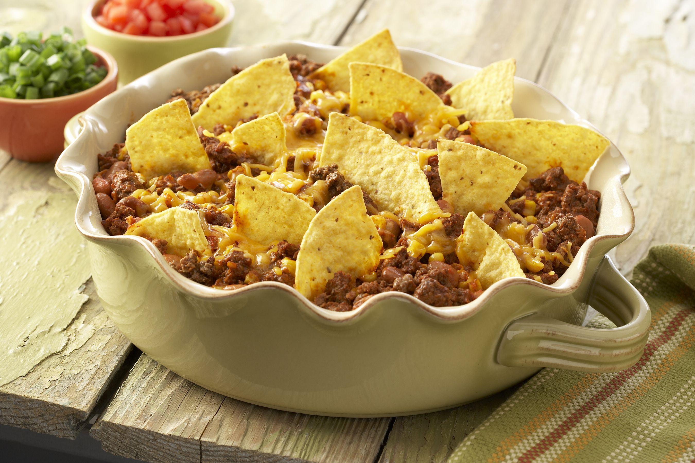 Taco Casserole Recipe Recipe Recipes Food Mexican Food Recipes