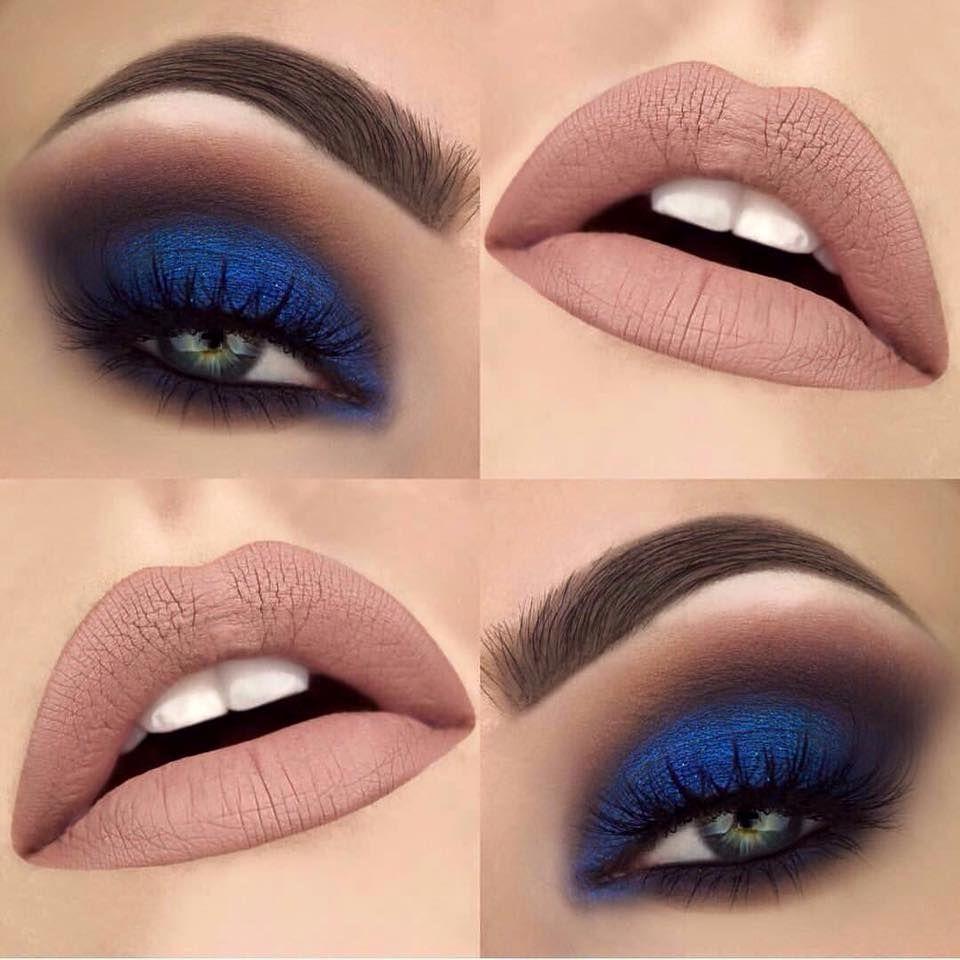 Resultado de imagem para maquiagem azul marinho ...