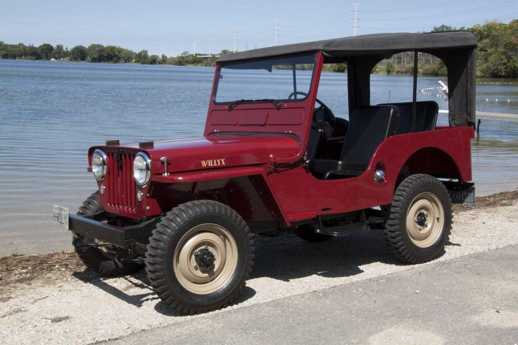 1949 Willys Overland Cj 3a Willys Jeep Military Jeep