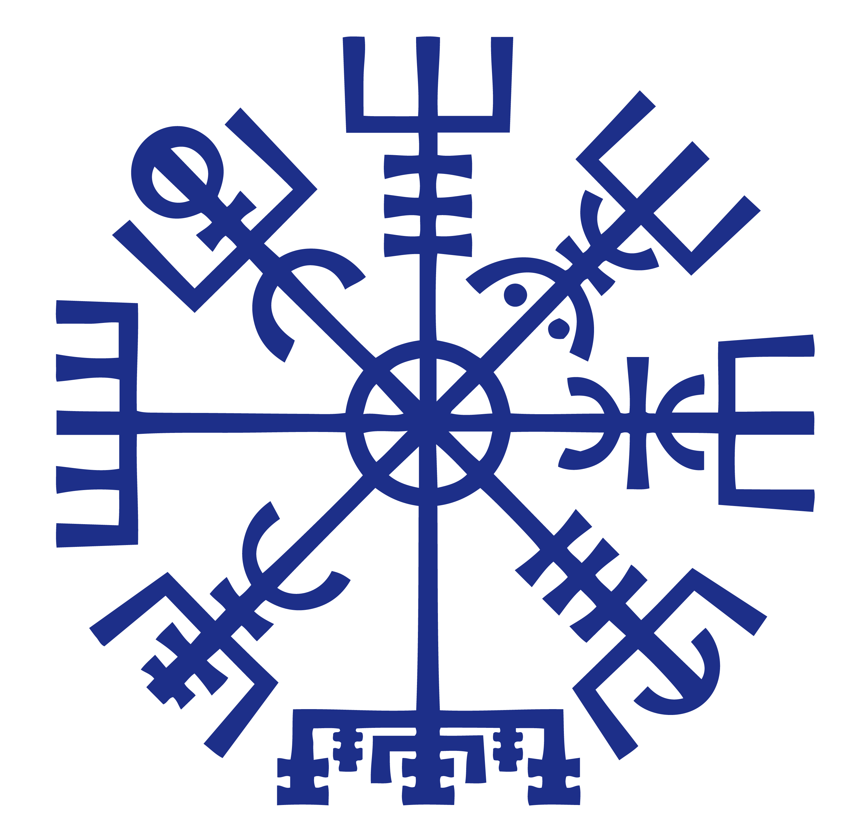 Star of david religious symbols and their meanings by vegvisir pagan symbol buycottarizona Image collections