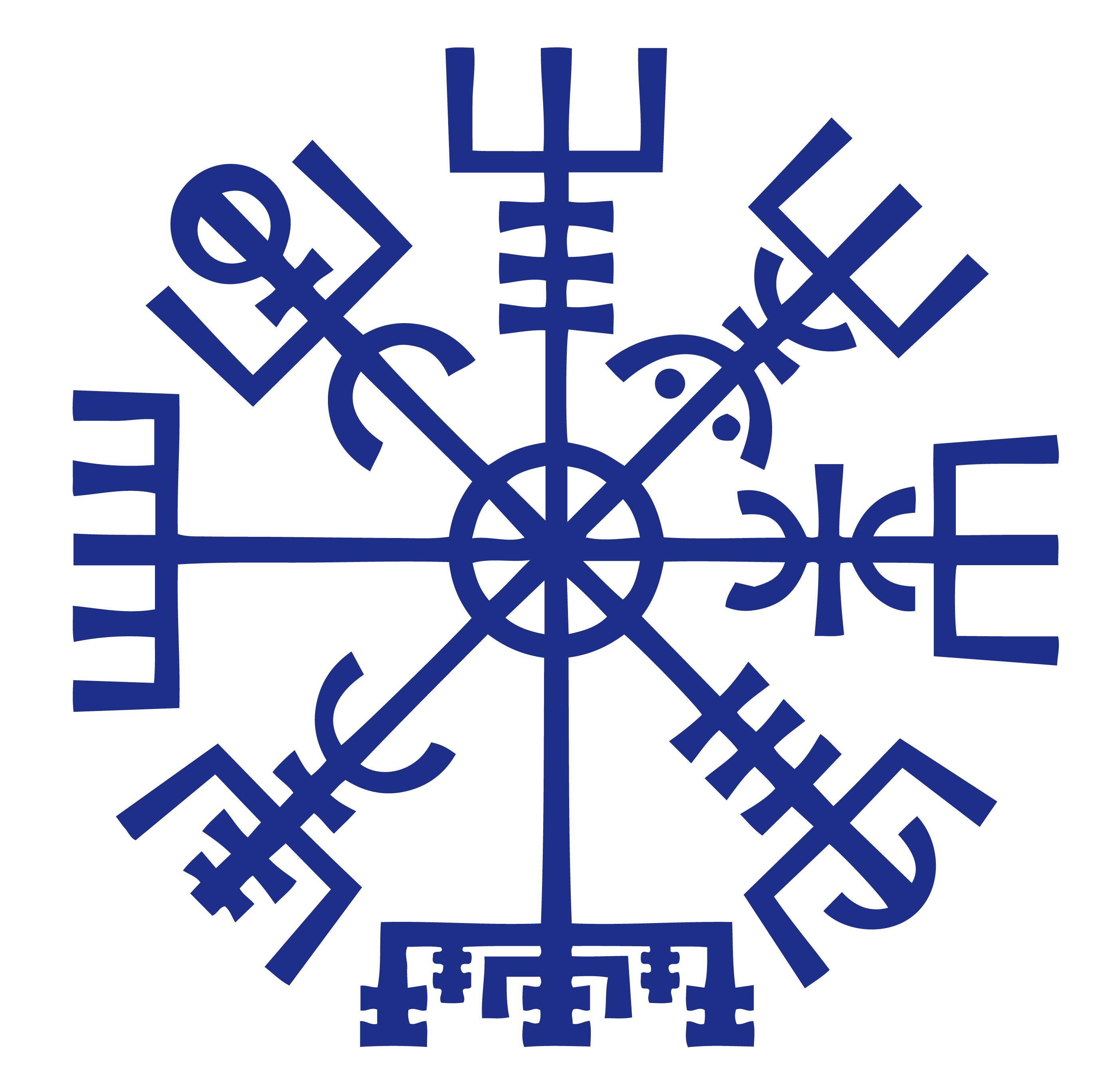 Vegvisir Pagan Symbol Symbols And Meanings Pinterest Pagan