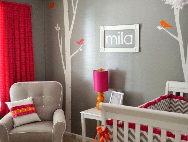 Déco de la chambre bébé fille sans rose en 25 idées super | Babies