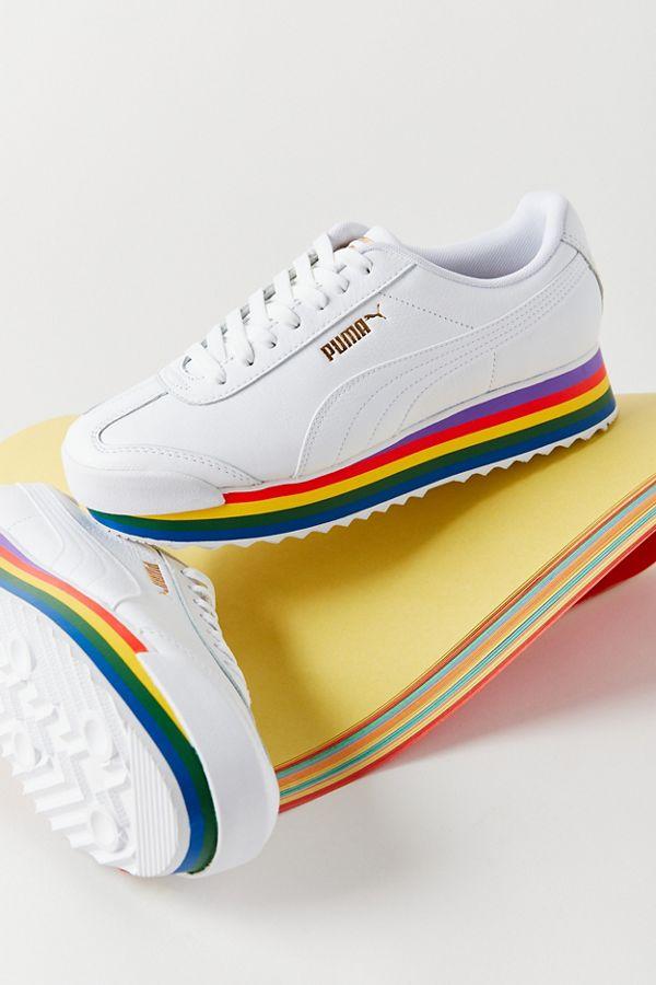 Puma Roma Amor Rainbow Sneaker in 2020