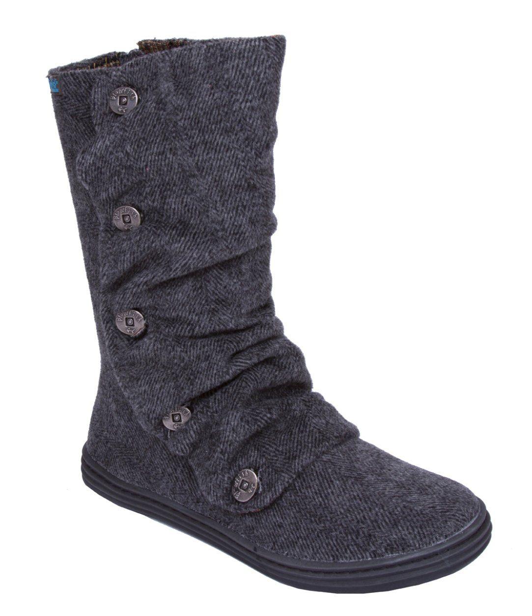 Grey Herringbone RAMMISH style boot from Blowfish ~ Size 8.5