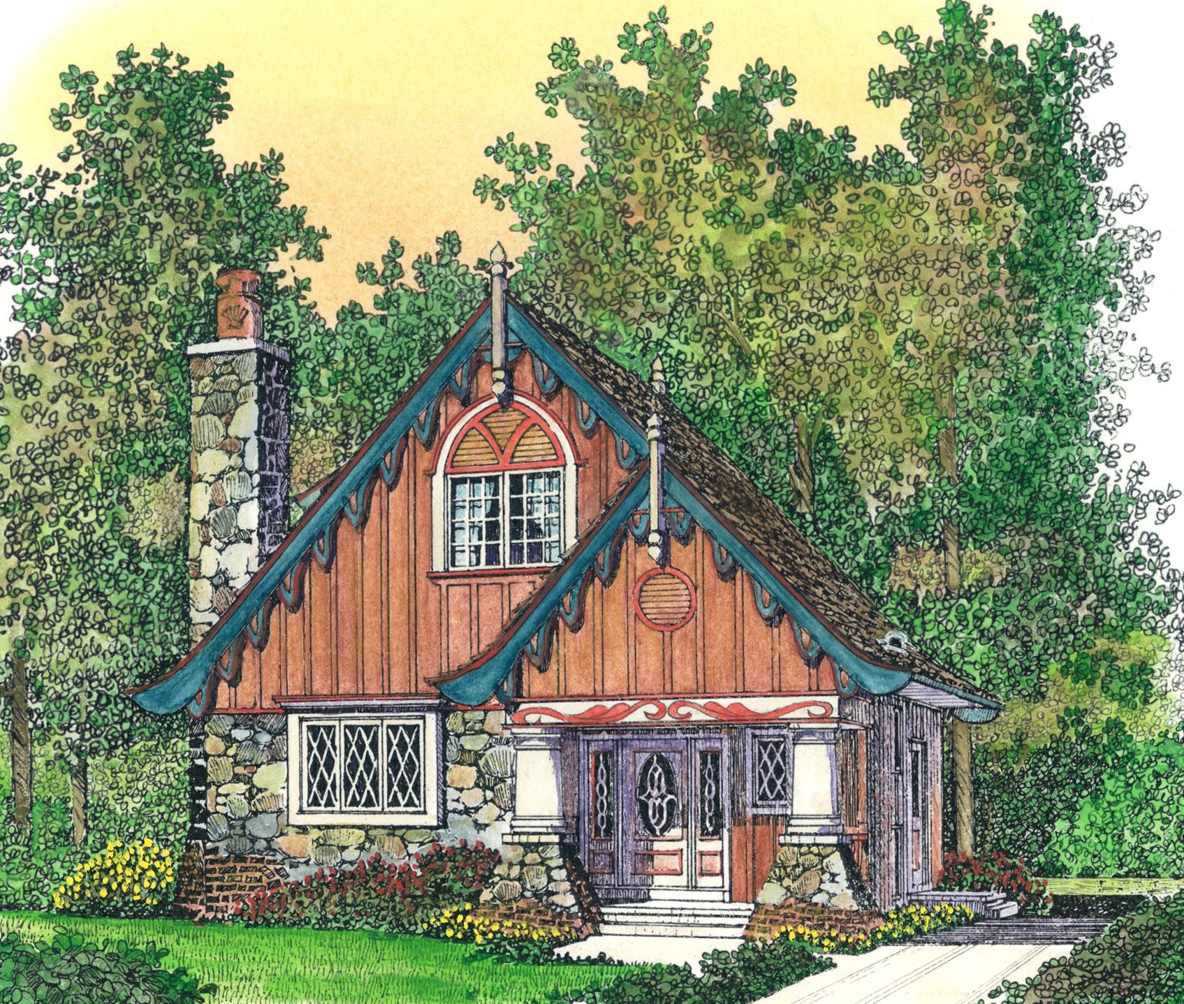 rustic 2 bed dacha house plan 43076pf 2nd floor master suite plan 43076pf rustic 2 bed dacha house plan