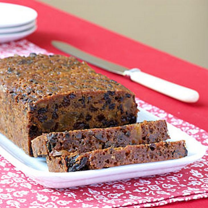 Real Old-Fashioned Fruitcake Recipe Desserts With Hot