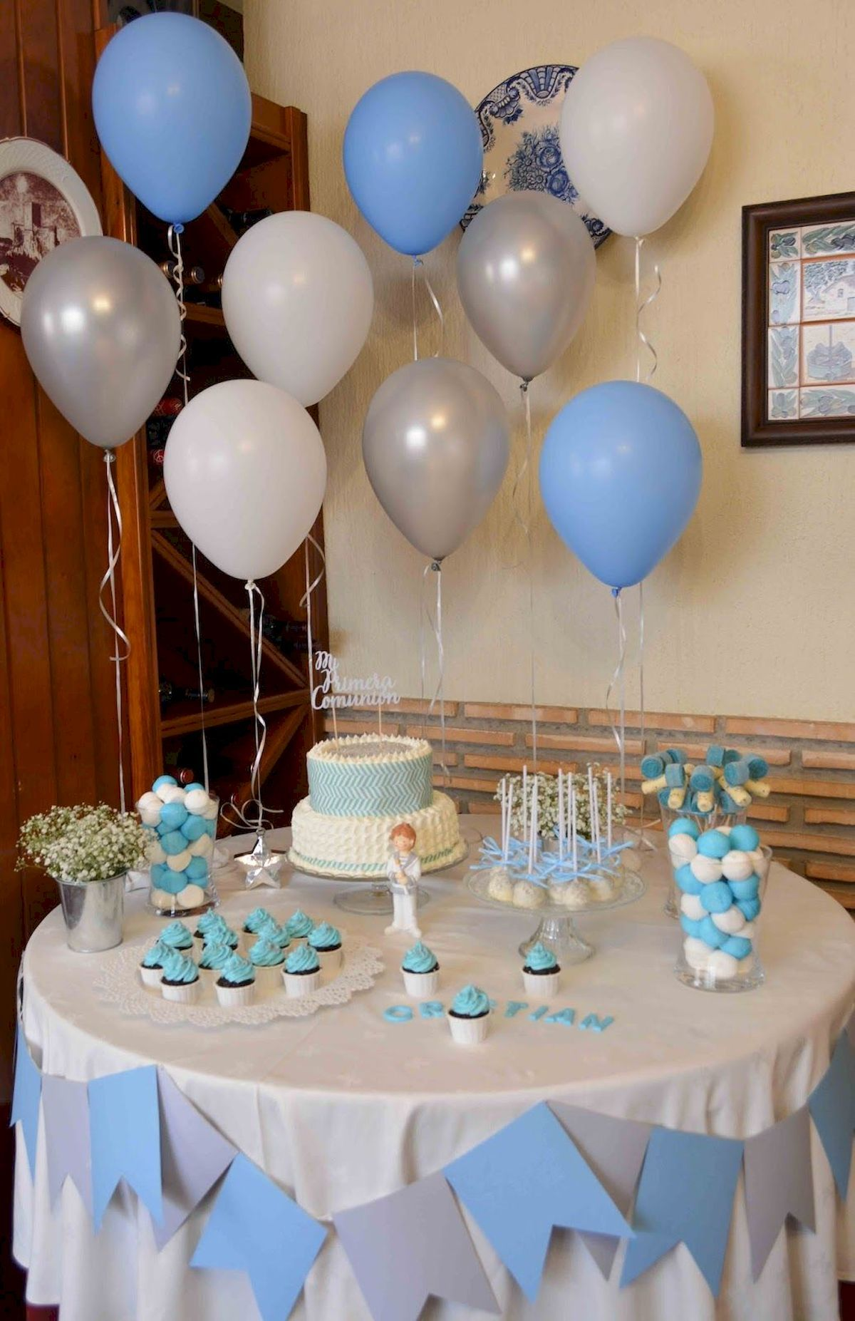 Decoration Birthday Party Ideas Jihanshanum Baptism Decorations Boy Baby Shower Inspiration Baby Shower Favors Diy