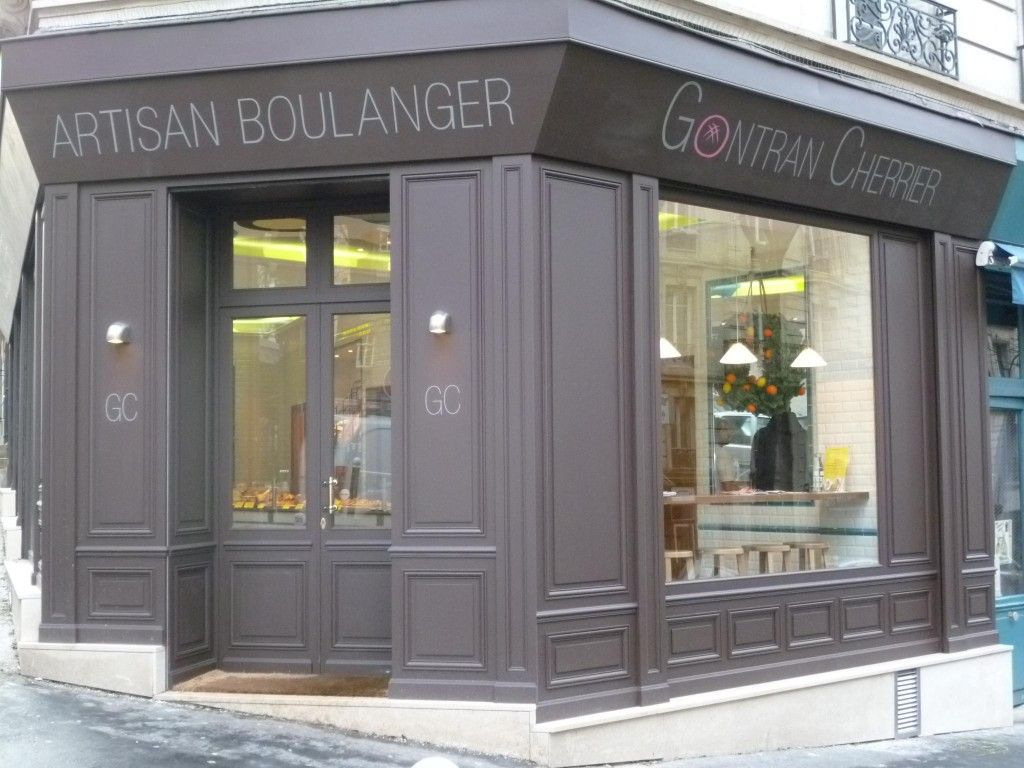 devanture parisienne ancienne | gontran cherrier, boulanger paris