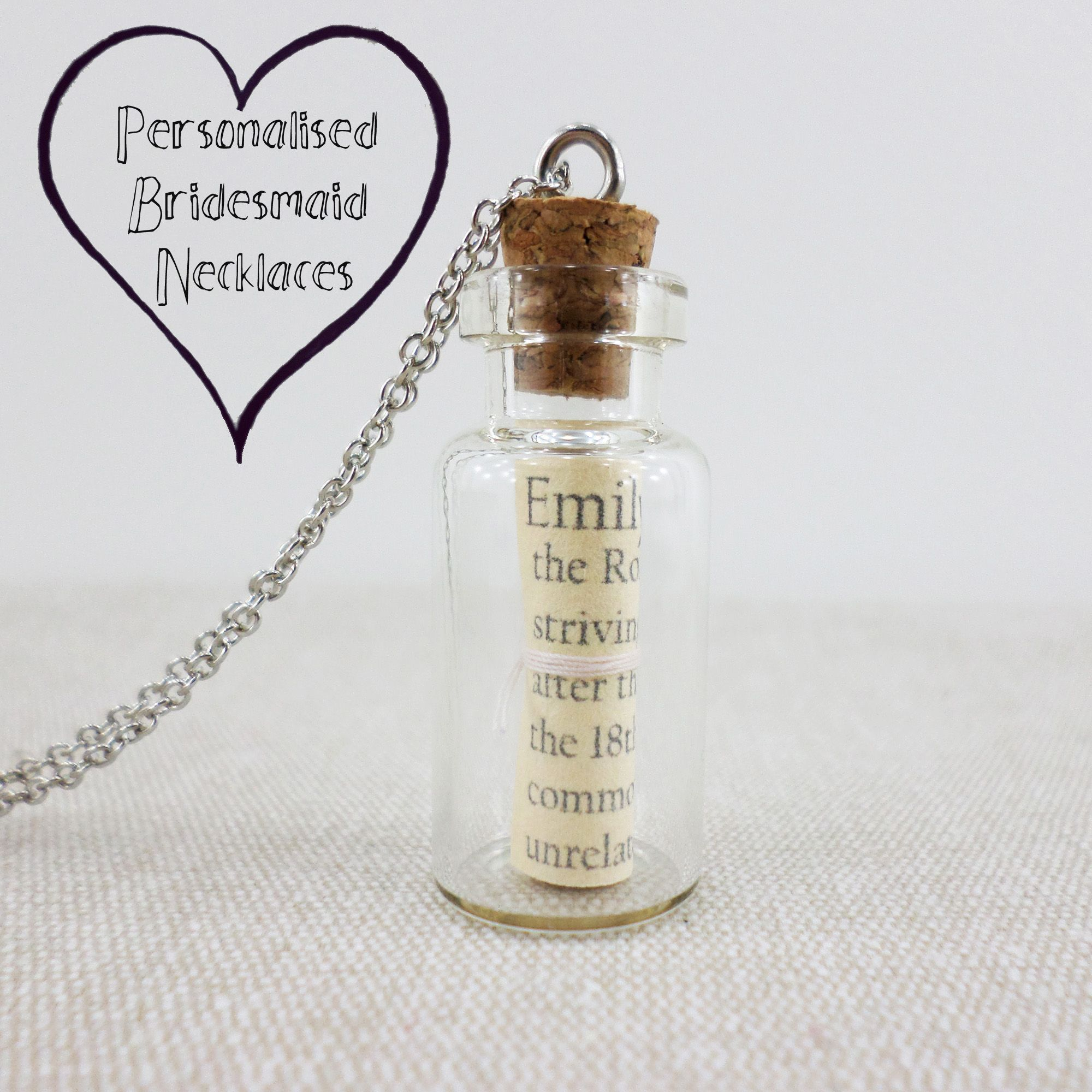 Perfect Wedding Gift Ideas: The Perfect Bridesmaid Gift. Celebrate Your Friendship