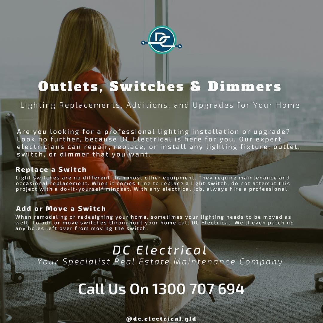 Electrical Outlets, Switches & Dimmers 💡 DC Electrical