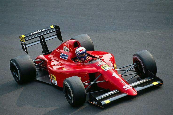 Alain Prost Ferrari f1