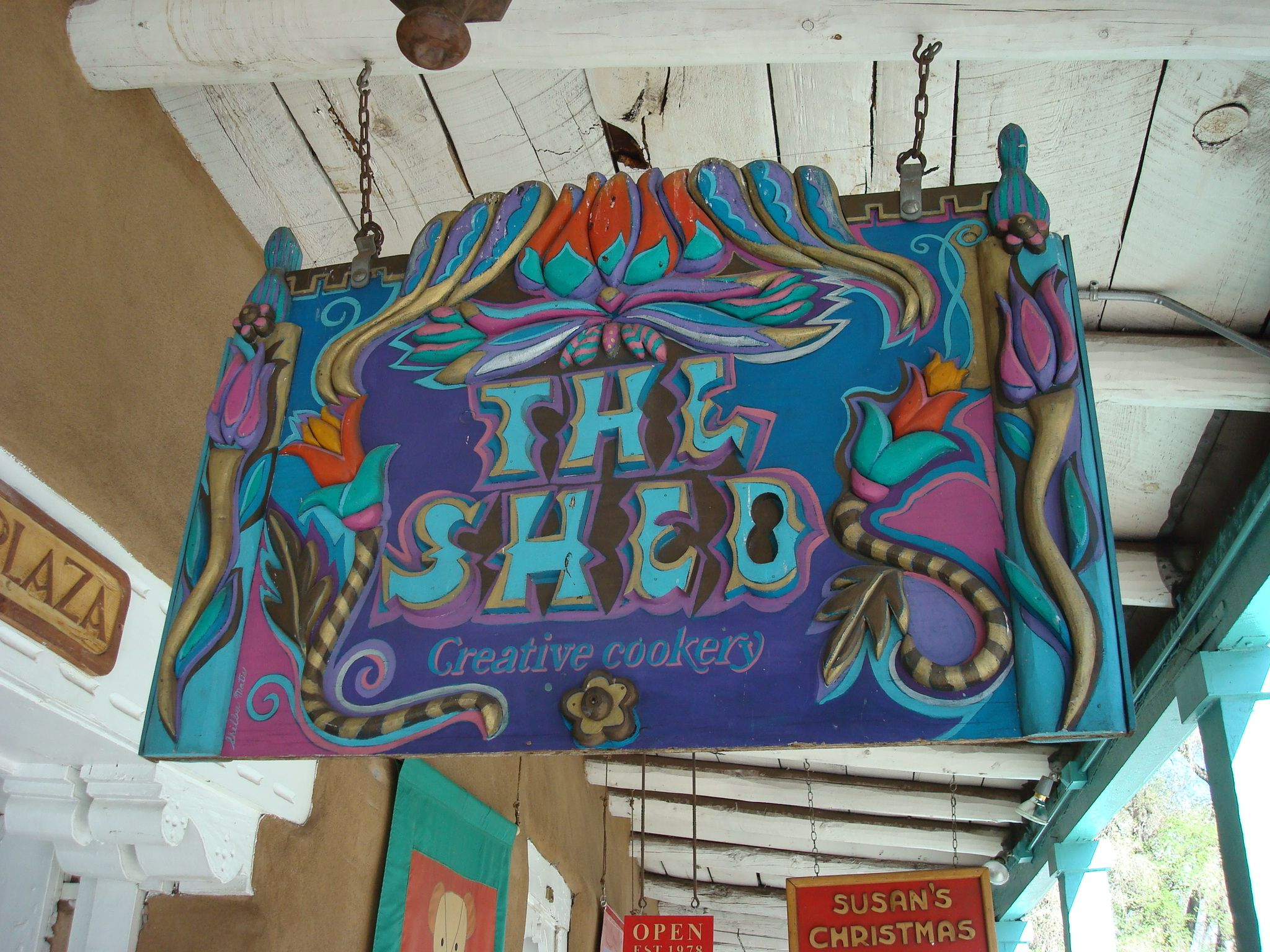 The Shed Restaurant a landmark in Santa Fe Known for great