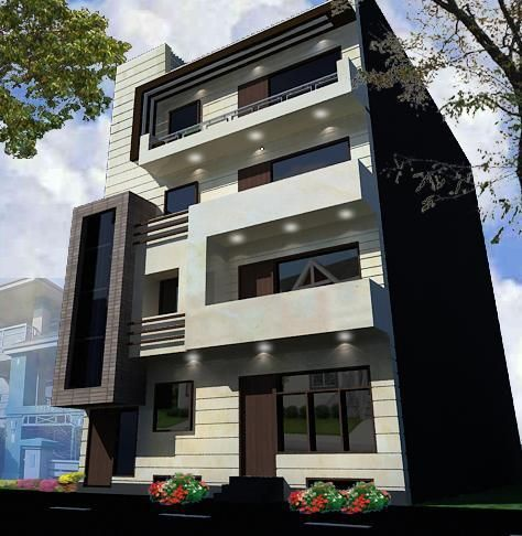 Image Result For Elevation South Face Apartment House Front Plans
