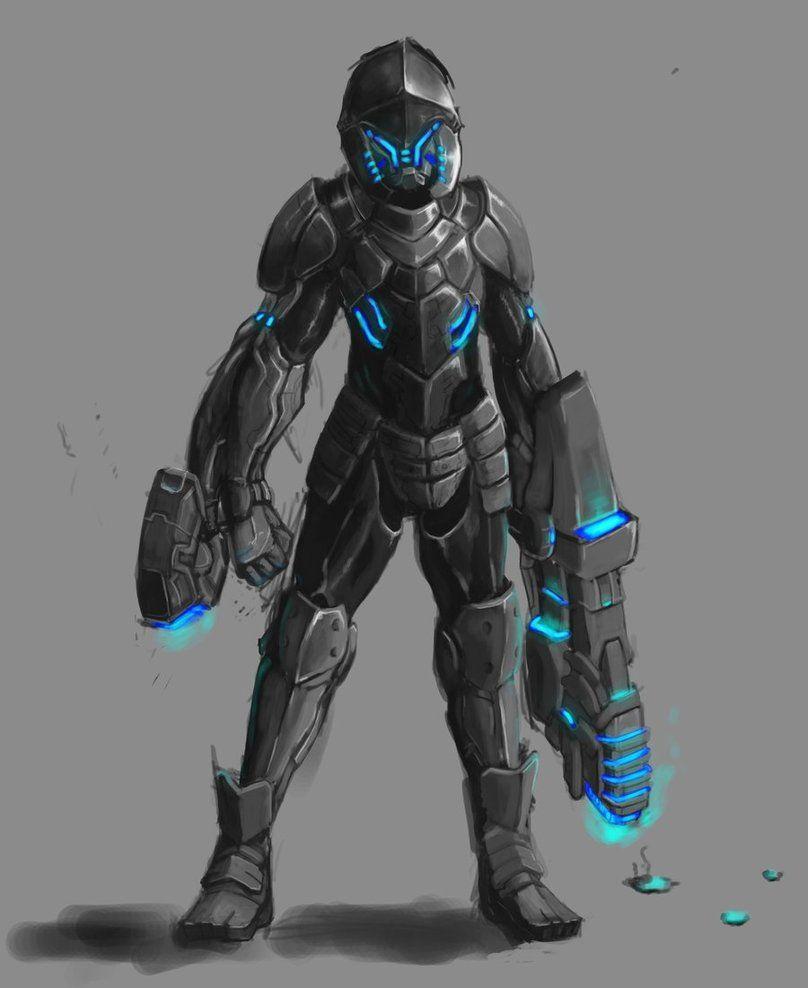 403 Forbidden Power Armor Armor Concept Futuristic Armour