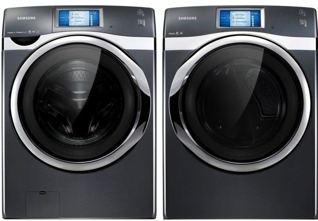 Samsung Touchscreen Smart Washer Dryer Smart Washer And Dryer