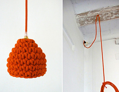 crochet light / etsy