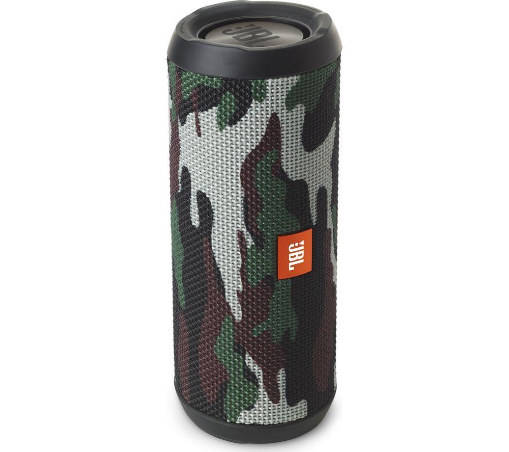 Jbl Flip 3 Squad Portable Wireless Speaker Camouflage Price 64 99 Top Features Functional Form With A Splashp Jbl Flip 4 Pc Speakers Bluetooth Speaker