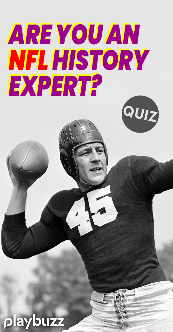 Are You an NFL History Expert? Sports Nfl history
