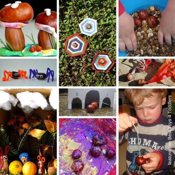 33 Ways To Play With Chestnuts This Fall Arts And Crafts Storage Arts And Crafts For Kids Kids Art Projects