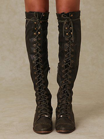 Jeffrey Campbell Joe Lace Up Boot At Free People Clothing