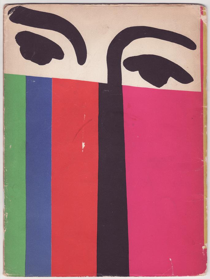 Exhibition catalog design, Matisse.