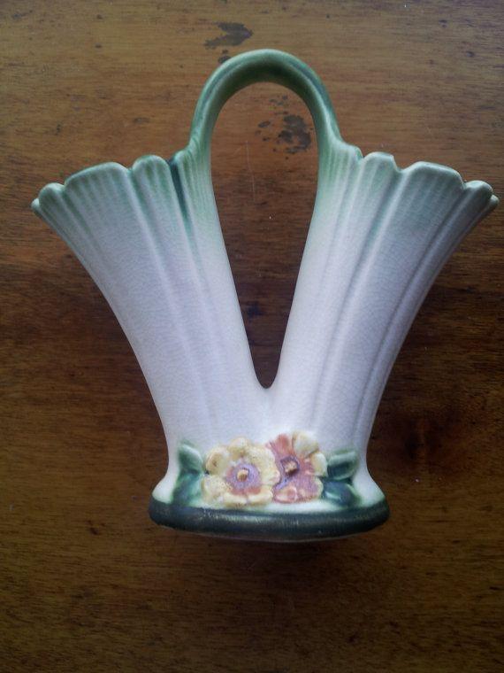 Vintage 1920s Weller Vase Double Vase By Gildedlylly On Etsy