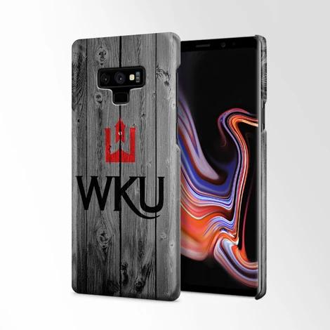 Wku Western Kentucky University Logo Dark Wood Wallpaper